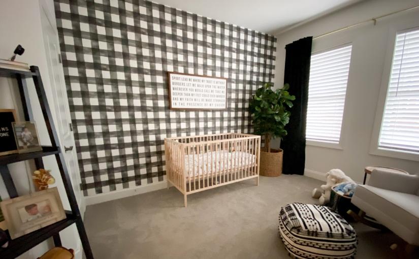 brady's nursery reveal